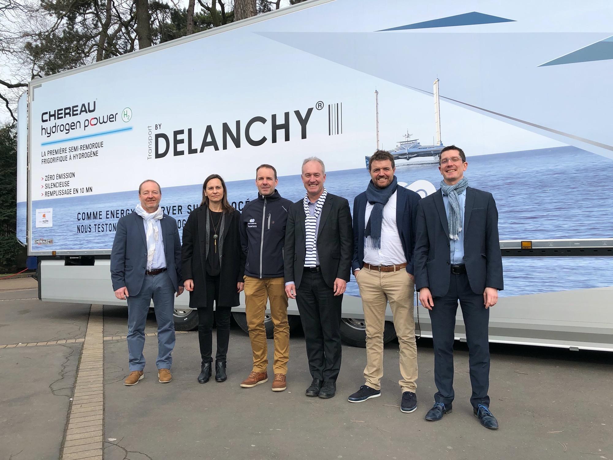 Delanchy et Chéreau annoncent leur semi hydrogène au salon Hyvolution