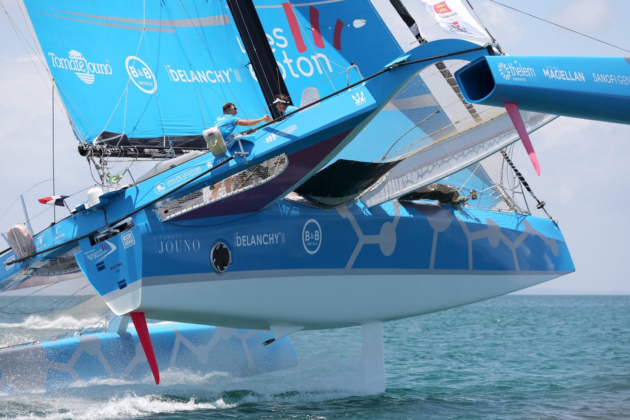El Desafío de Navegación Solitaria en Pelotón de ARSEP, la temporada 2020 se está preparando.
