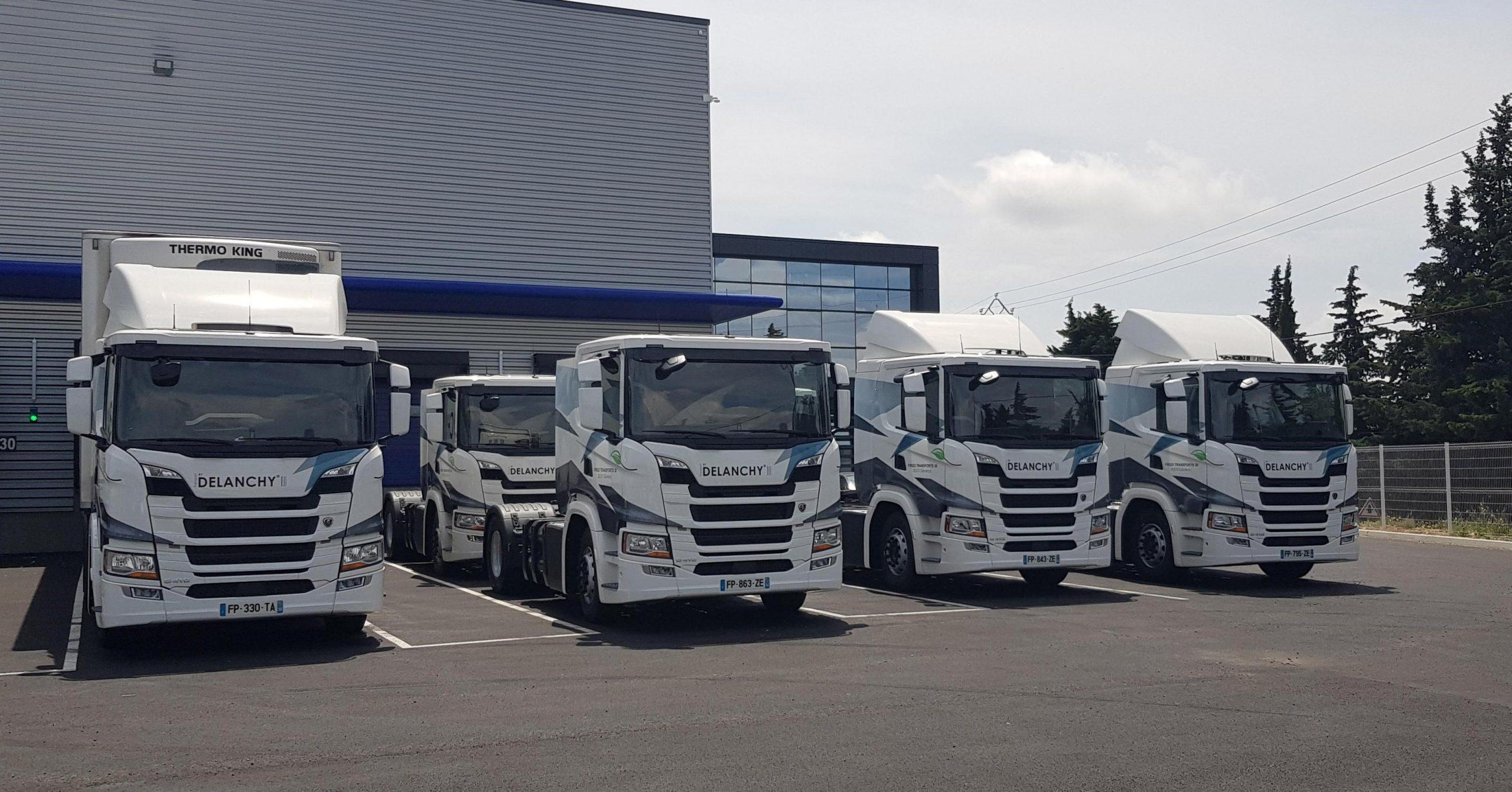 Seven Scania G410 for our Générac agency