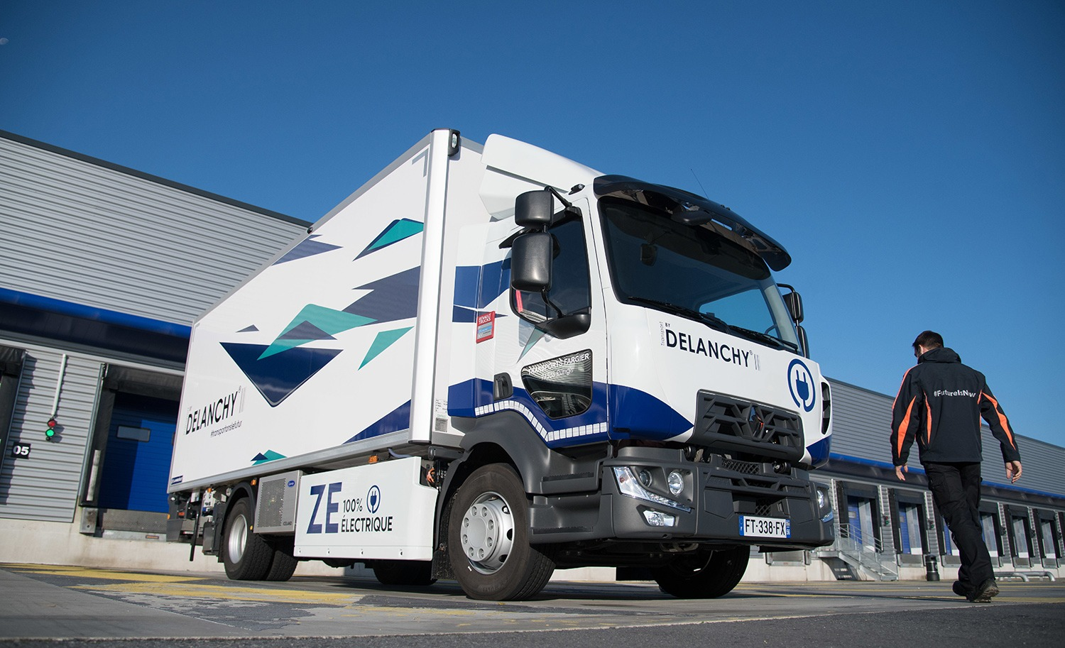 New all-electric truck in operation
