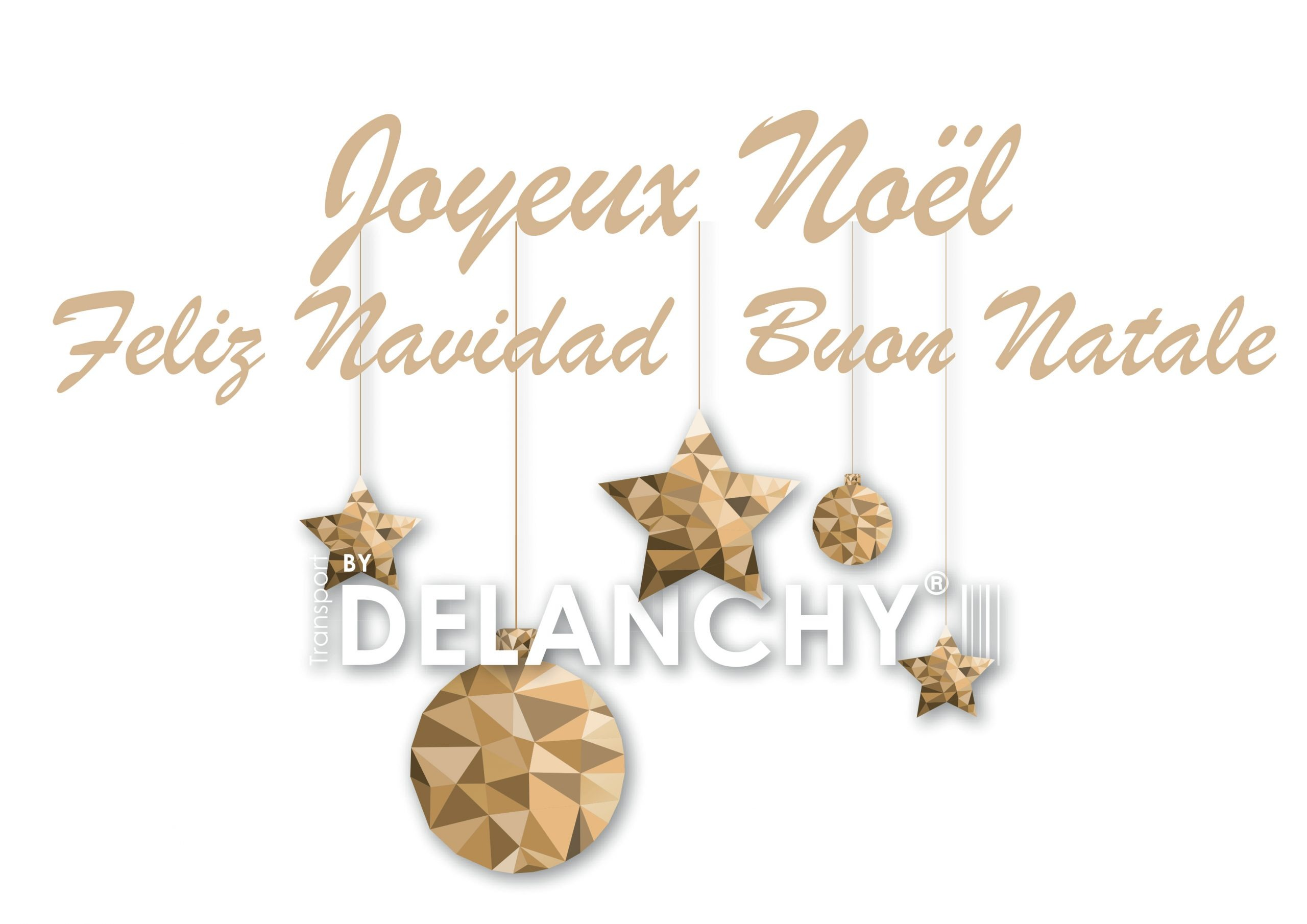 The DELANCHY Group wishes you all a Happy Holiday Season.